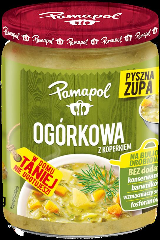 Pamapol Zupa ogórkowa z koperkiem