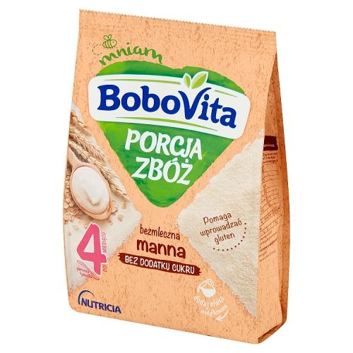 BoboVita Porcja Zbóż kaszka bezmleczna manna