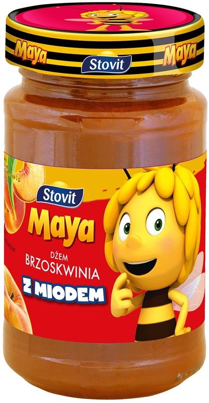 Stovit Maya dżem brzoskwinia z  miodem