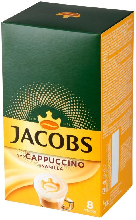 Jacobs Cappuccino napój kawowy o  smaku waniliowym