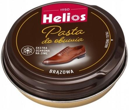 Helios Pasta do obuwia brązowa