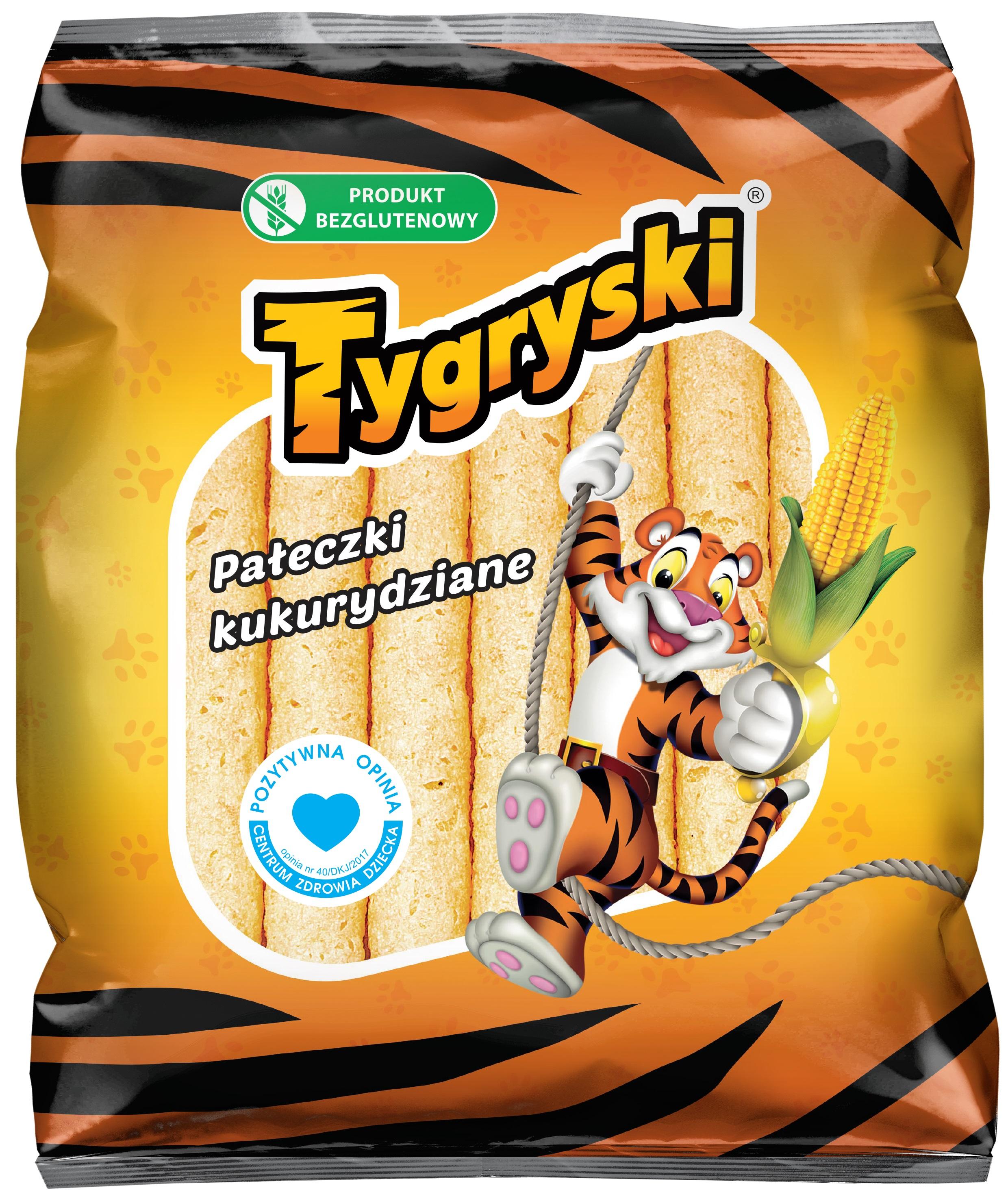 Tygryski pałeczki kukurydziane