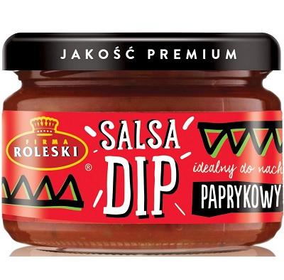 Roleski Salsa Dip paprykowy NOWOŚĆ idealny do nachos