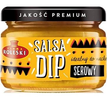 Roleski Salsa Dip serowy NOWOŚĆ idealny do nachos