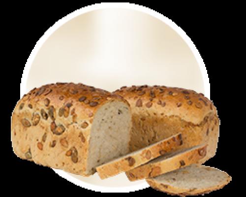 Janca chleb z dynią z mąki mieszanej