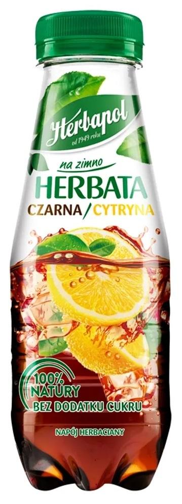Herbapol na zimno herbata czarna & cytryna