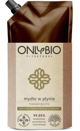 Only Bio mydło hipoalergiczne w płynie  biorafinowana surfaktyna z rzepaku