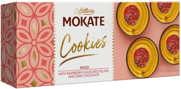 Mokate Cookies ciasteczka z  marmoladą