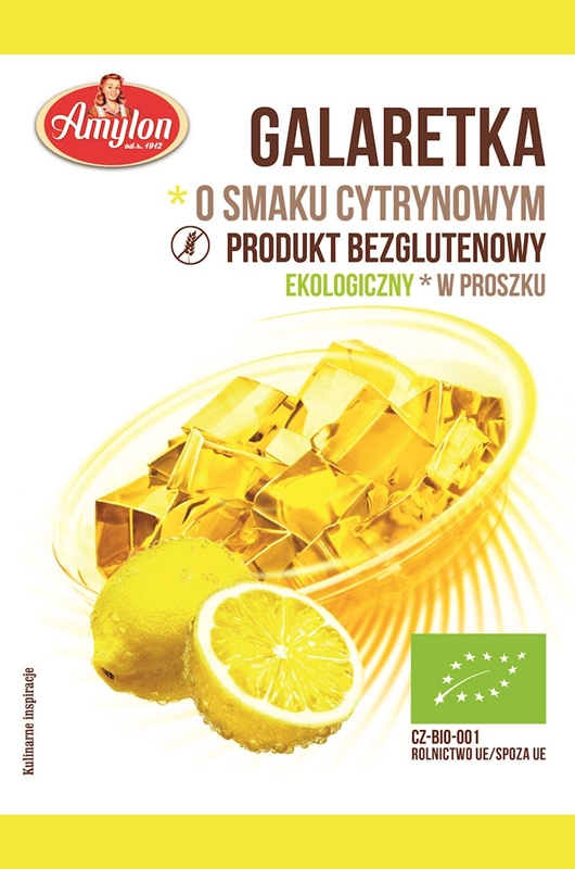 Amylon galaretka o smaku cytrynowym BIO