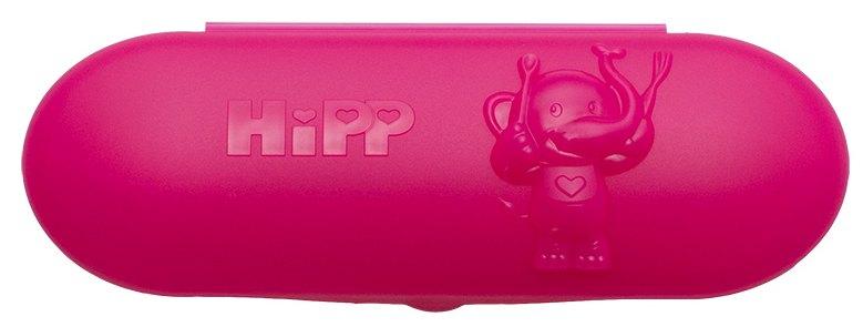 HiPP Różowe pudełko z dwiema łyżeczkami