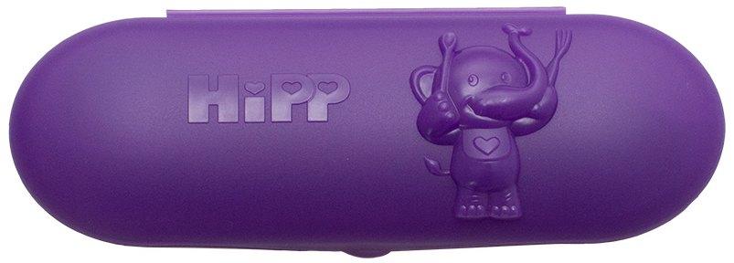 HiPP Fioletowe pudełko z dwiema łyżeczkami