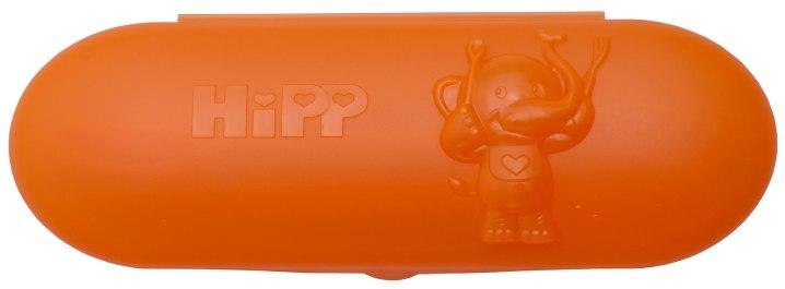 HiPP Pomarańczowe pudełko z dwiema łyżeczkami