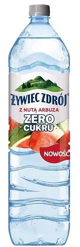 Żywiec Zdrój woda z nutą arbuza Zero Cukru