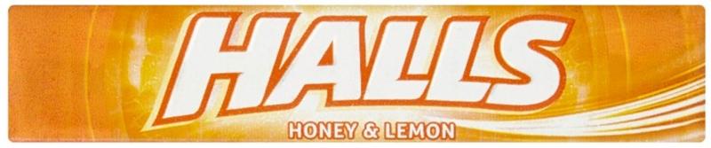 Halls Honey & Lemon cukierki