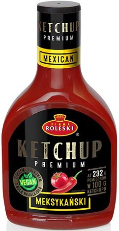 Roleski Ketchup Premium Meksykański NOWOŚĆ