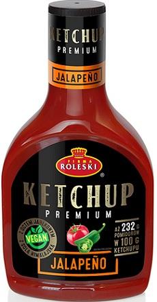 Roleski Ketchup Premium Jalapeno NOWOŚĆ