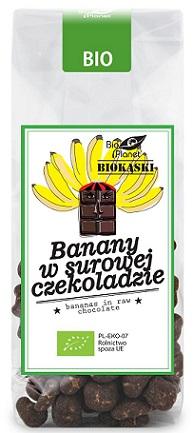 Bio Planet Banany w surowej czekoladzie BIO