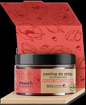 No.36 Plantis Therapy Peeling do stóp gruboziarnisty, Mak