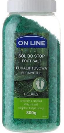 On Line Sól do stóp Eukaliptusowa - Relaks