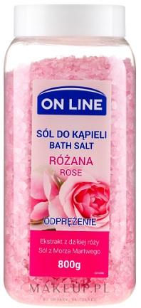 On Line Sól do kąpieli Różana  - Odprężenie