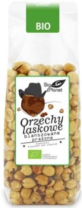 Bio Planet Orzechy Laskowe blanszowane prażone BIO
