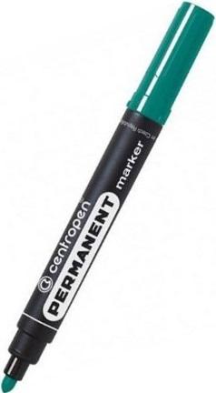Centropen Marker permanentny zielony Permanent 8566