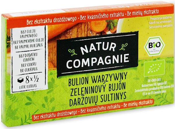 Natur Compagnie bulion warzywny BIO 8szt