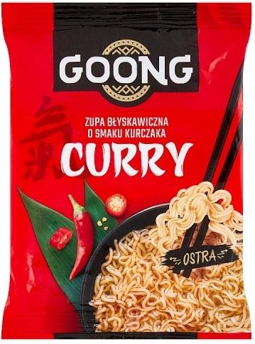 Goong Zupa Błyskawiczna o smaku kurczaka Curry