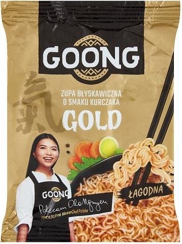 Goong Zupa Błyskawiczna o smaku kurczaka Gold