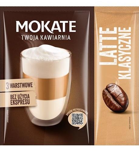 Mokate Kawa rozpuszczalna Latte Klasyczne Bez użycia ekspresu