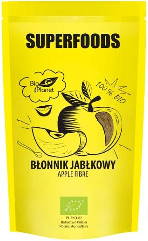 Bio Planet Superfoods Błonnik  Jabłkowy