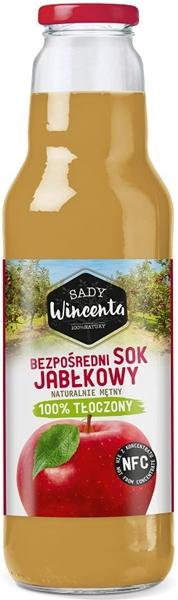 Sady Wincenta sok jabłkowy 100% tłoczony