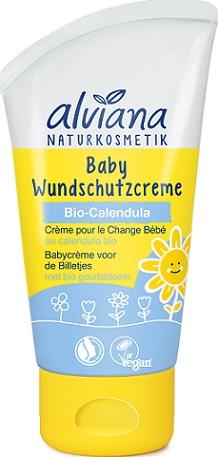 Alviana Baby Krem na Odparzenia dla dzieci i niemowląt z BIO nagietkiem