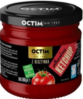 Octim Ketchup Pikantny z Olsztynka