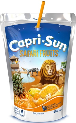 Capri-Sun Safari Fruits Napój Wieloowocowy