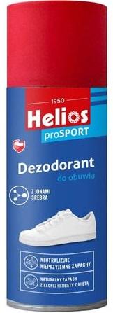 Helios Dezodorant do Obuwia z jonami srebra, każdy rodzaj butów