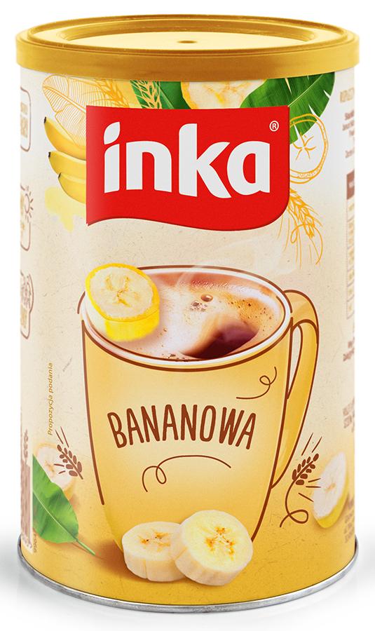 Inka Bananowa Rozpuszczalna kawa zbożowa z bananem