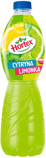 Hortex Napój wieloowocowy Cytryna - Jabłko - Limonka