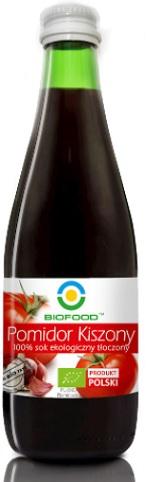 Bio Food Pomidor Kiszony 100% Sok ekologiczny tłoczony