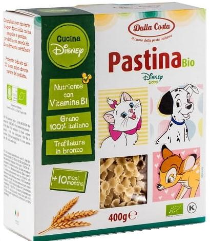 Dalla Costa Pastina BIO Ekologiczny makaron bezjajeczny z mąki z pszenicy durum