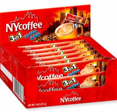 Mokate NYcoffee Kawa rozpuszczalna 3 w 1  Coffee drink (1 szt.)