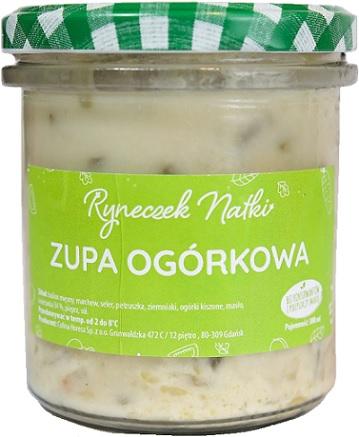 Ryneczek Natki zupa ogórkowa