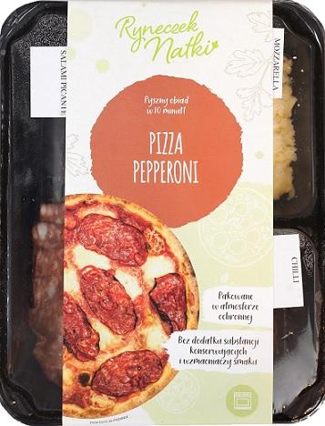 Ryneczek Natki pizza Pepperoni do przygotowania w domu