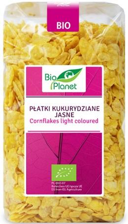 Bio Planet Płatki Kukurydziane Jasne