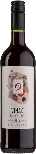 Vina'0 Le Merlot Wino Czerwone Bezalkoholowe BIO