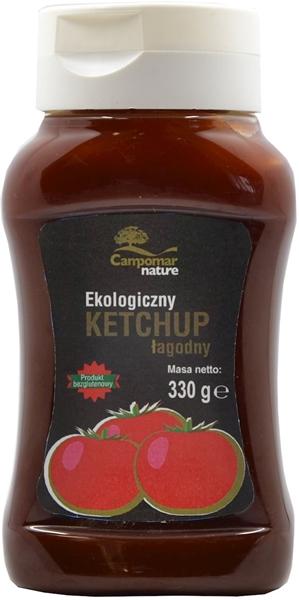 Campomar Natur Ketchup łagodny BIO bezglutenowy