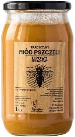 Pszczółkowo Tradycyjny Miód Pszczeli Lipowy Nektarowy