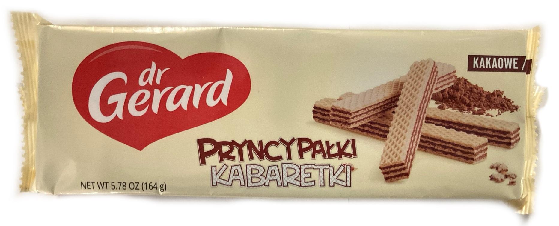 dr Gerard Pryncypałki Kabaretki Wafelki z kremem kakaowym