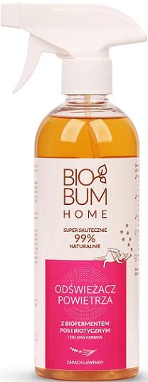 Biobum Home Odświeżacz Powietrza z biofermentem i zieloną herbatą Zapach Lawendy