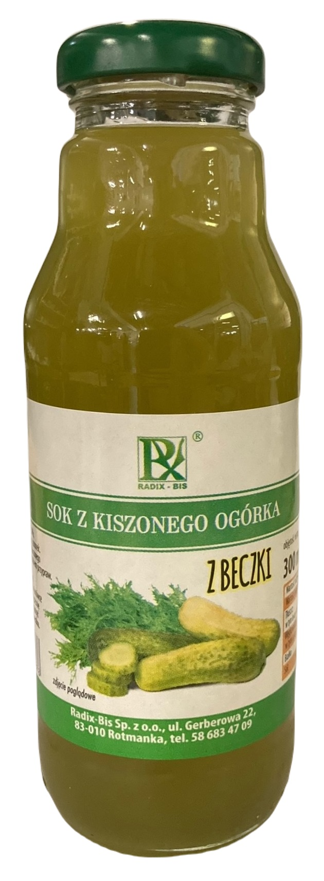 Radix-Bis sok z kiszonego ogórka z beczki